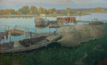 Evening on Ladoga