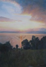 Dawn over the Sea of Galilee( Kinneret)