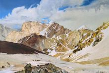 002 - Pamirs Mountains, canvas, ...