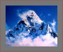 """The sacred mountain of Himalayas"", 2008."